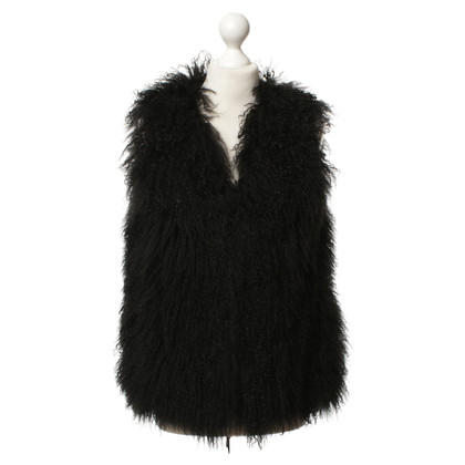 Other Designer Gerard Darel - lamb fur vest
