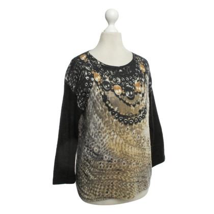 Luisa Cerano Motif-print sweater