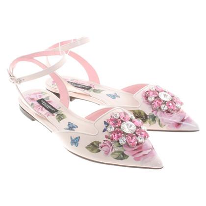 Dolce & Gabbana Sandalen met een bloemenprint