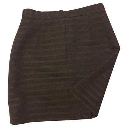 Versace Mini-jupe en noir