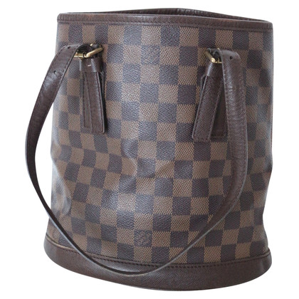 "Louis Vuitton ""Bucket PM Damier Ebene Canvas"""