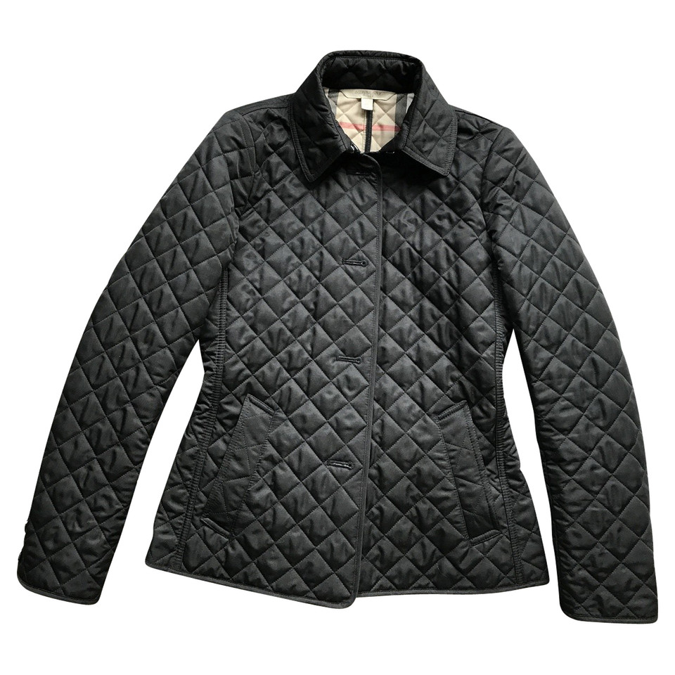 Burberry quilted jacket - Buy Second hand Burberry quilted jacket ... : burberry quilted check trim coat - Adamdwight.com