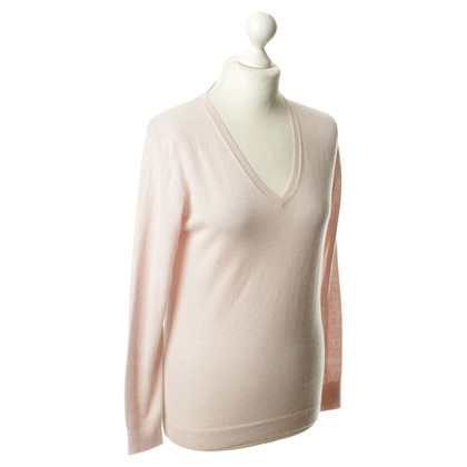 Luisa Cerano Cashmere sweaters in pink