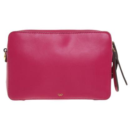 Anya Hindmarch Handtasche in Fuchsia-Tönen