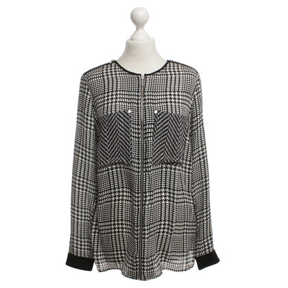 Michael Kors Silk blouse with pattern