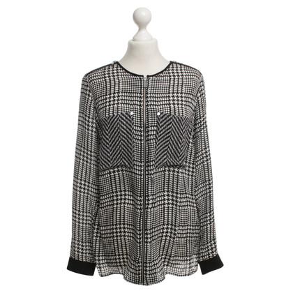 Michael Kors Zijden blouse met patroon