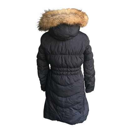Napapijri Down coat with fur trim