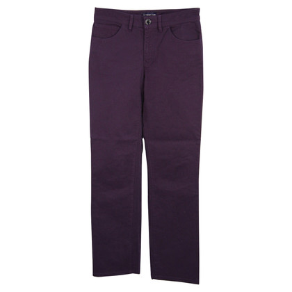 Armani trousers in violet