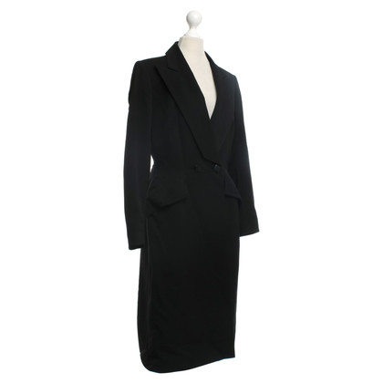 Mugler Coat in zwart