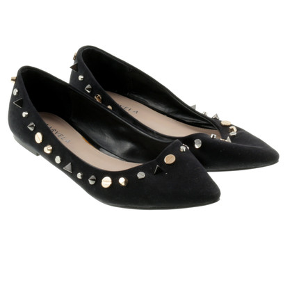Kurt Geiger Pointy flats with studs