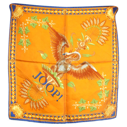 JOOP! Silk scarf with motif