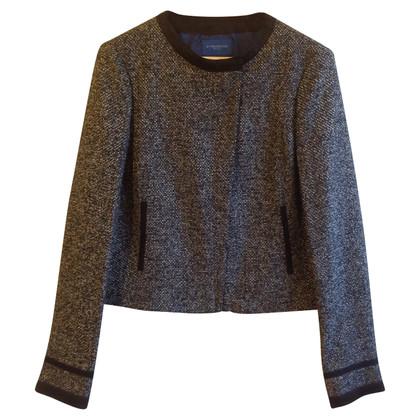 Strenesse Blue Jacket with fancy yarn