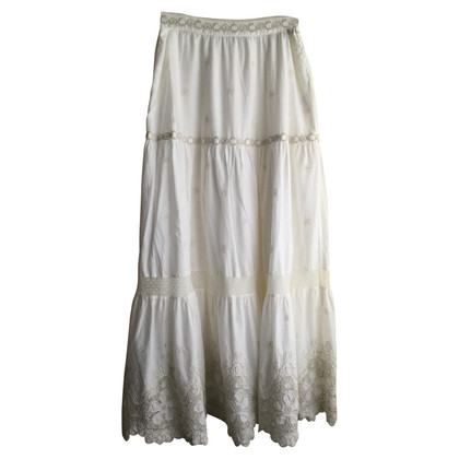 Blumarine Maxi skirt in white