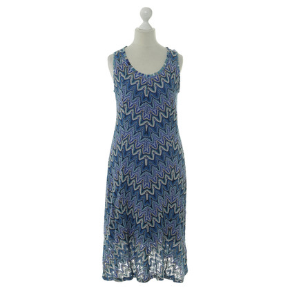 Riani Strickkleid in Blau-Nuancen