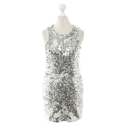 By Malene Birger Paillettenkleid in Silber