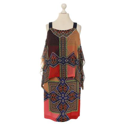 Etro Schort jurk gemaakt van zijde