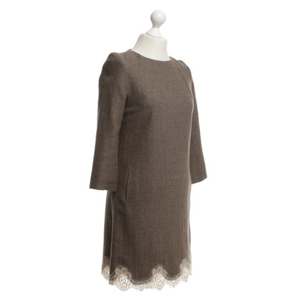 Erika Cavallini Dress with herringbone pattern