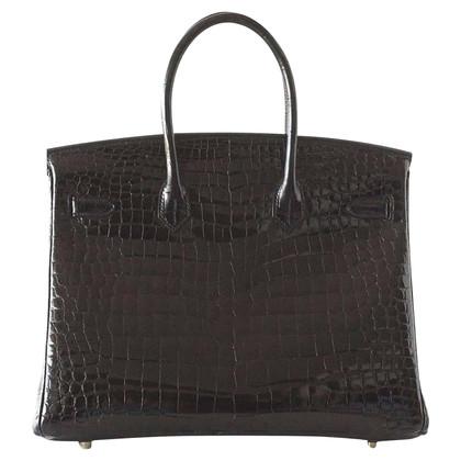 """Hermès """"Birkin Bag 30 Crocodylus Porosus GHW"""""""