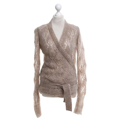 Chloé Wrap cardigan in beige