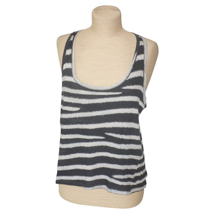 Stella McCartney Top with striped pattern