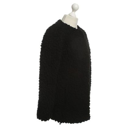 Marc Cain Velcro jacket in black