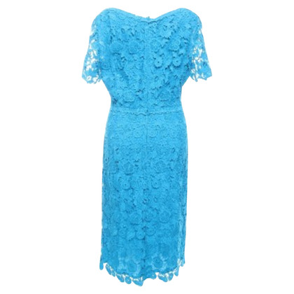 Escada Dress in rich turquoise tone