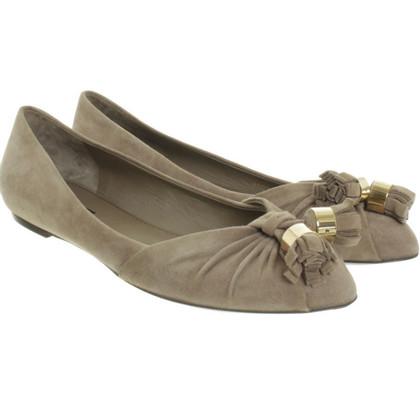 Louis Vuitton Leather ballerinas
