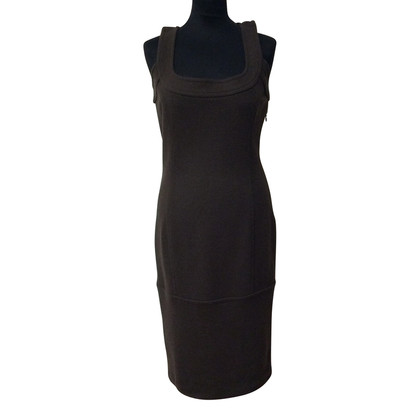 Dsquared2 Wollkleid in Braun