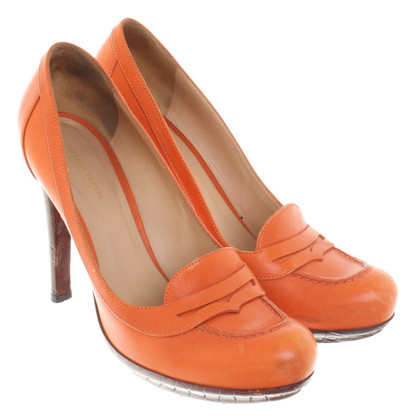 Bottega Veneta pumps a Orange