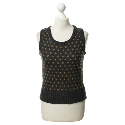 Balenciaga Knit vests with dot pattern
