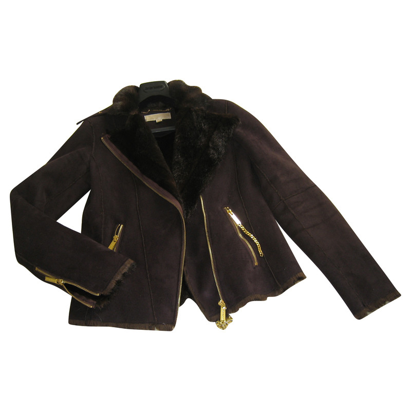 michael kors jacke mit fell second hand michael kors jacke mit fell gebraucht kaufen f r 165. Black Bedroom Furniture Sets. Home Design Ideas