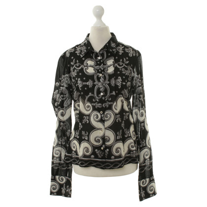 Coast Weber Ahaus Black cotton blouse