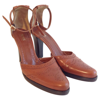 Hugo Boss Slingpumps in Cognac