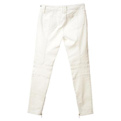 Balmain Pantaloni bianchi