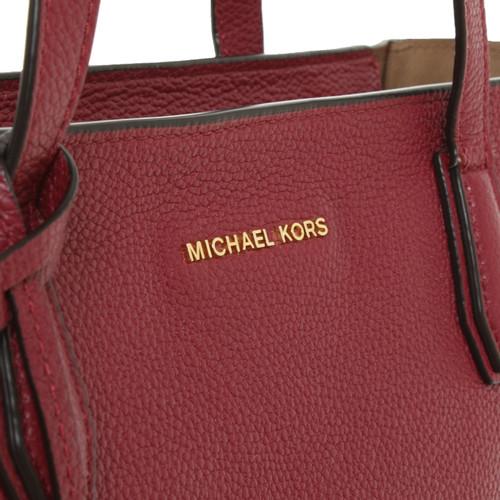 bc2c7f57a873 Michael Kors Mercer LG TZ Tote - Second Hand Michael Kors Mercer LG ...