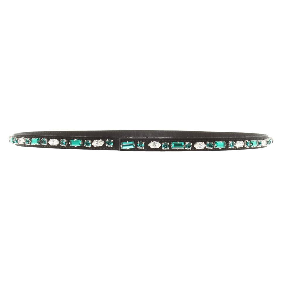 Prada Belt with jewelry