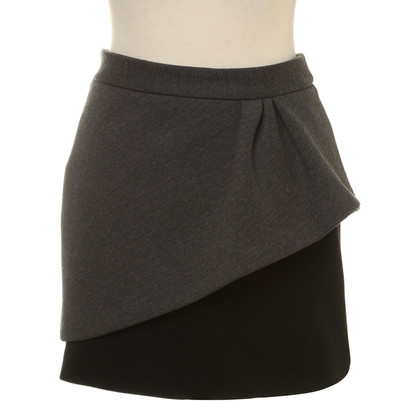 Maje Mini skirt with peplum