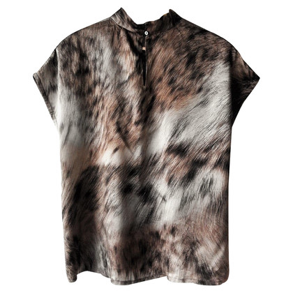 Marc Cain Silk-top with print