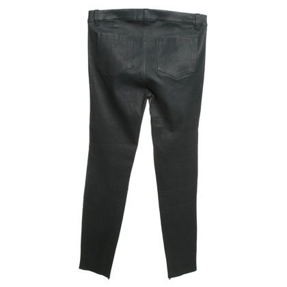 J Brand Leather pants in gray