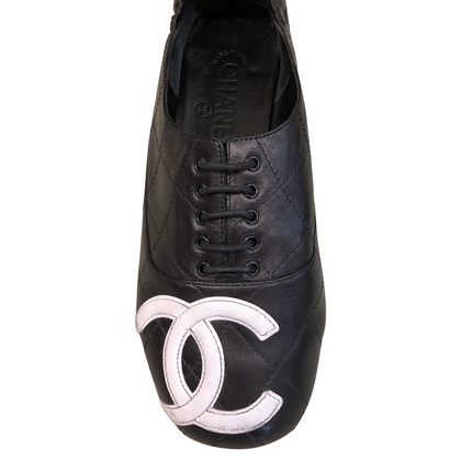 Chanel lace-up shoes