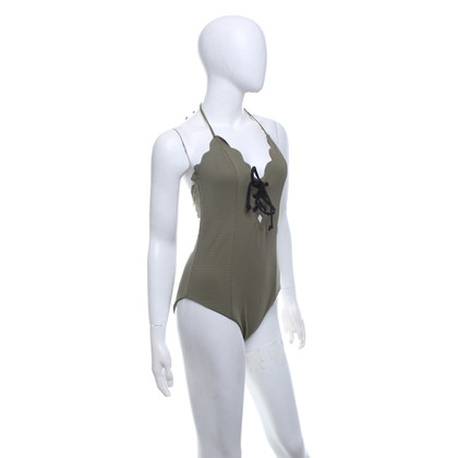 Marysia  Swimsuit in olive green