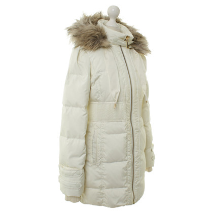 Juicy Couture Daunenjacke in Creme