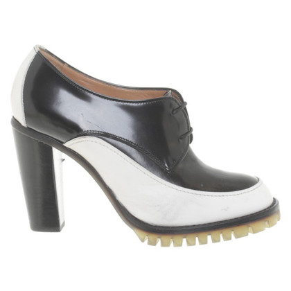 Fratelli Rossetti Ankle boots in black/white