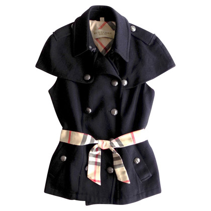 Burberry Coat with short sleeves