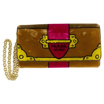 Prada Wallet with carrying chain