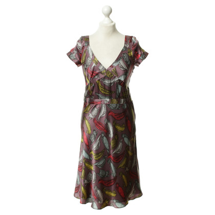 Cacharel Bird pattern dress
