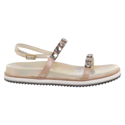 Dorothee Schumacher Golden sandals