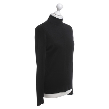 Calvin Klein Black roll-neck sweater