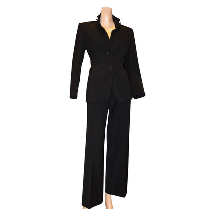 Max Mara Pants suit black