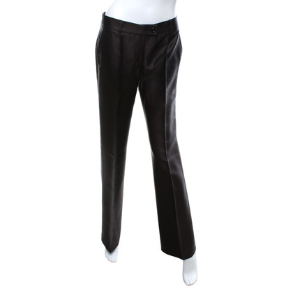 Moschino Cheap and Chic trousers in brown